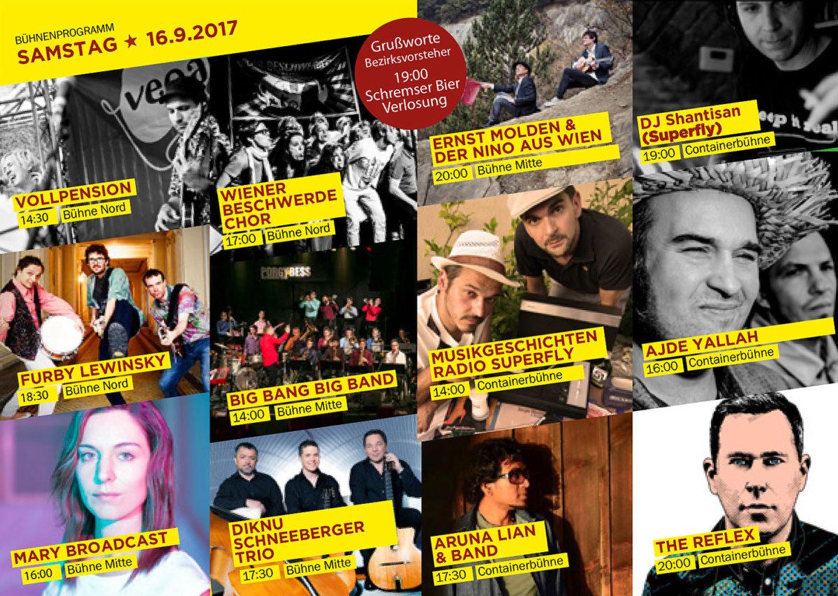 RDGFest2017 Programmheft Acts Samstag