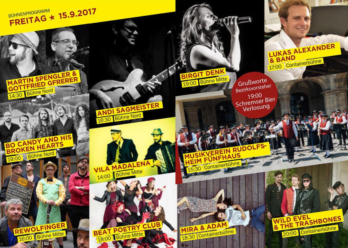 RDGFest2017 Programmheft Acts Freitag
