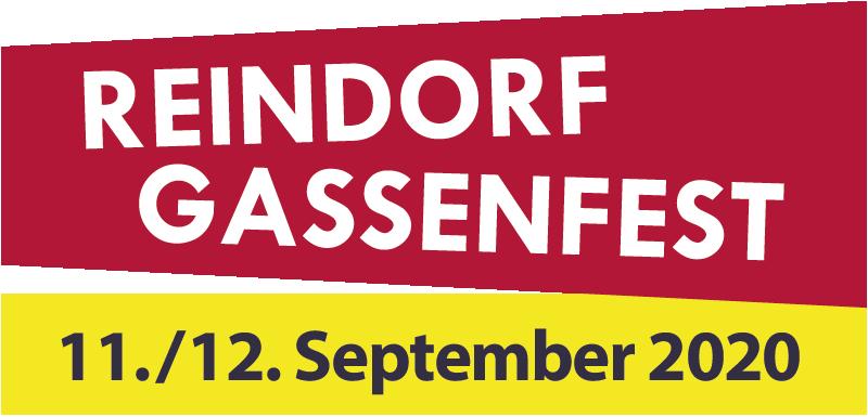Logo des Reindorfgassenfests 2020
